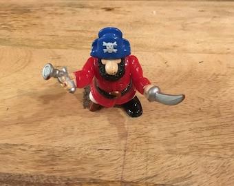 Imaginext Fisher Price Great Adventures pirates ship Captain peg leg sword beard