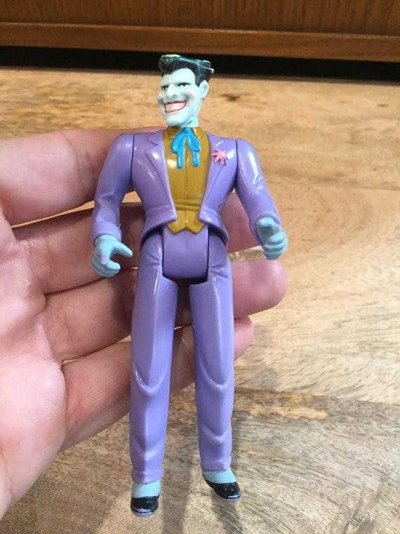 Vintage Batman Villain Figure The JOKER Purple Outfit Vintage 1993 DC Kenner Batman the Animated Series Action Figure