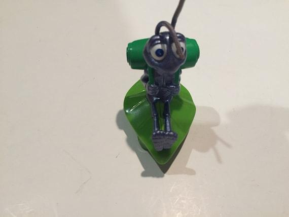 1998 Vintage Disney Pixar Toy Cake Topper Lot 2 Pull Racer Flick Toy Cake Topper Figure Vintage A Bug/'s Life