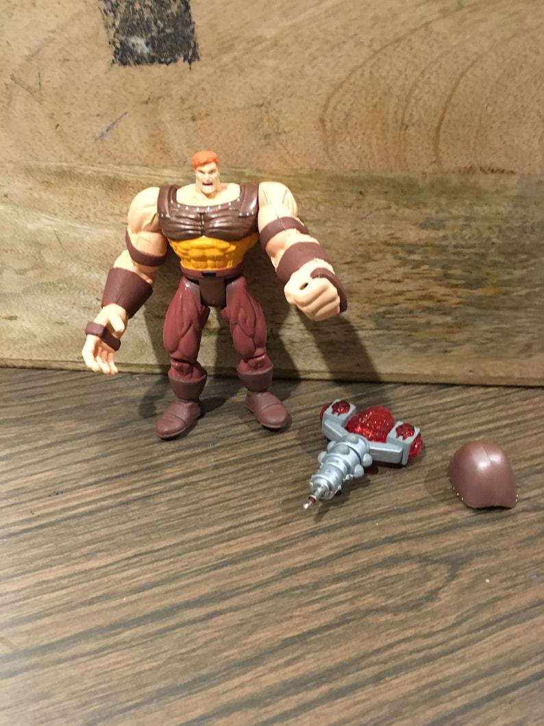 Vintage Marvel- X-men Classics JUGGERNAUT Rare 90/'s Marvel Toy Biz Figure COMPLETE ToyBiz 1996 Marvel Action Figure