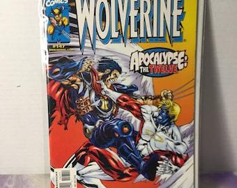 Vintage Marvel Comics Wolverine #147 (1996) Rare Vintage Comic Book
