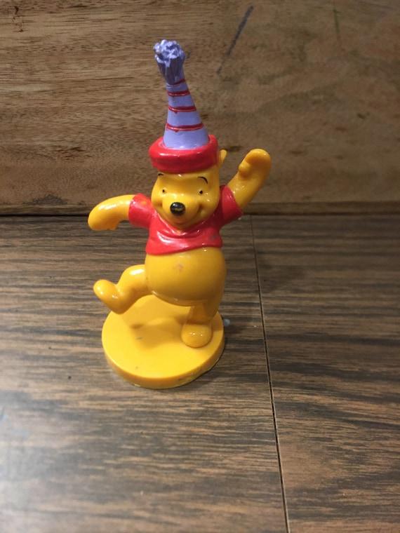 1990/'s Vintage Winnie the Pooh Toy Lot 10 TIGGER PVC Cake Topper Figure Vintage Winnie the Pooh