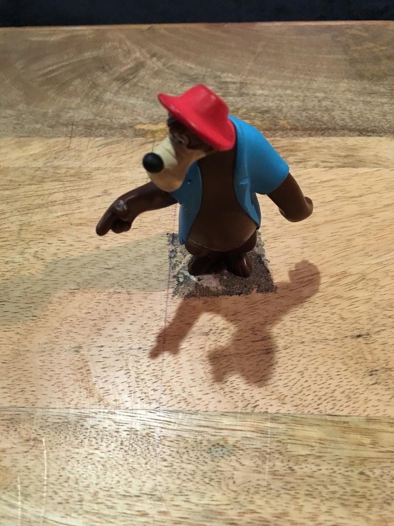 4 Inch Br/'er Bear figure PVC Cake Topper Rare Vintage Toy Disney Nostalgia figure! Vintage Disney Song of the South