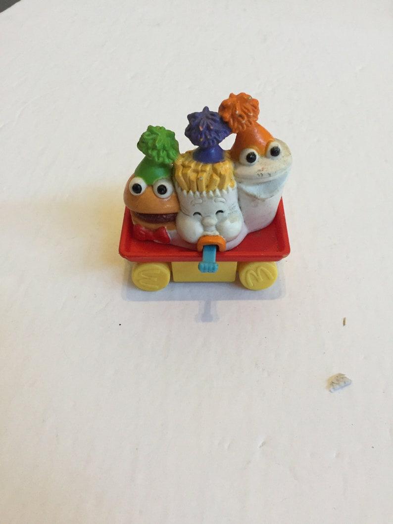 Vintage 1994 McDonald/'s Food Parade Happy Meal Toy McDonald/'s Happy Meal Toy Still Works