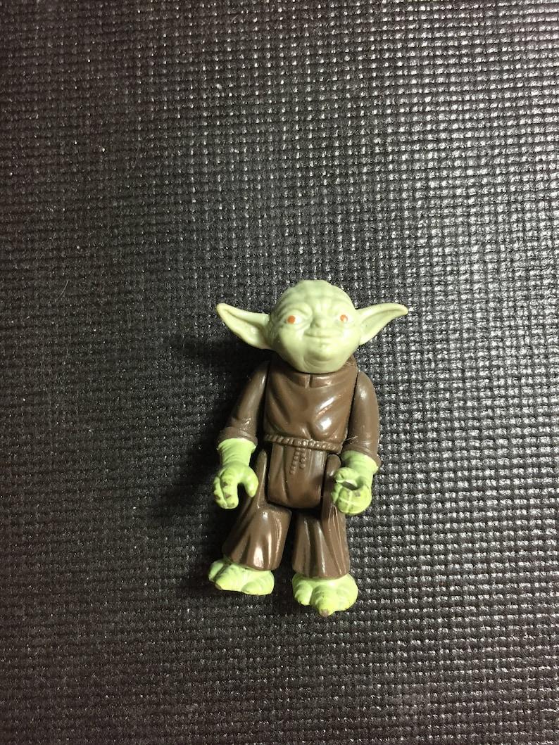 Rare Vintage Figure Lot 2 Star Wars Vintage 1980 LFL Kenner Action Figure Yoda A New Hope