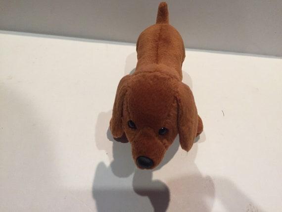 Vintage Ty Beanie Babies Weiner Dog Vintage Bear Stuffed  a22d05a4694