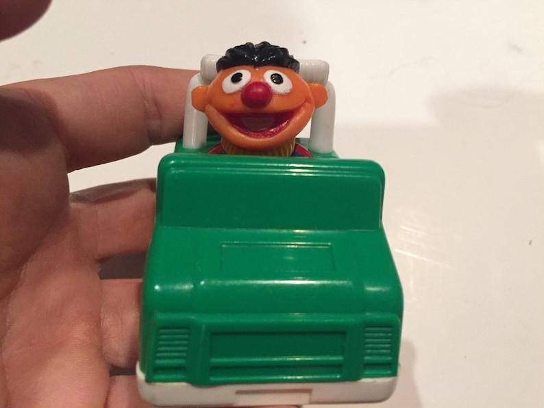 Sesame Street figure! Vintage Sesame Street Tyco Ernie Car Figure Cake Topper Rare Vintage Toy