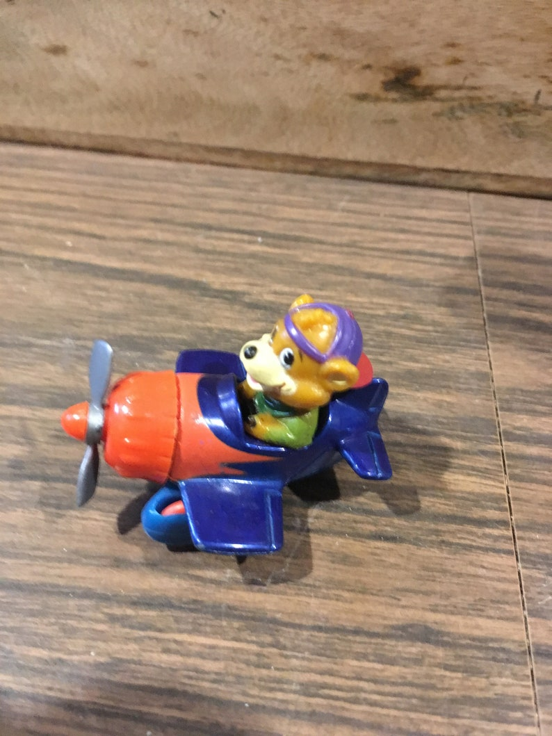 1989 Disney/'s Talespin McDonalds Happy Meal Toys KIT  Plane Roller Car Vintage Toy!