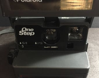 Vintage Polaroid One Step 600 Instant Camera - Rare Vintage Camera - In Great Condition (Like New)!