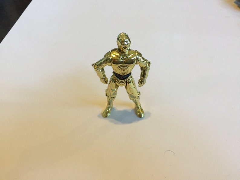 A New Hope Star Wars Loose Figure Lot 2 1995 Power of the Force Star Wars Vintage Hasbro C-3P0