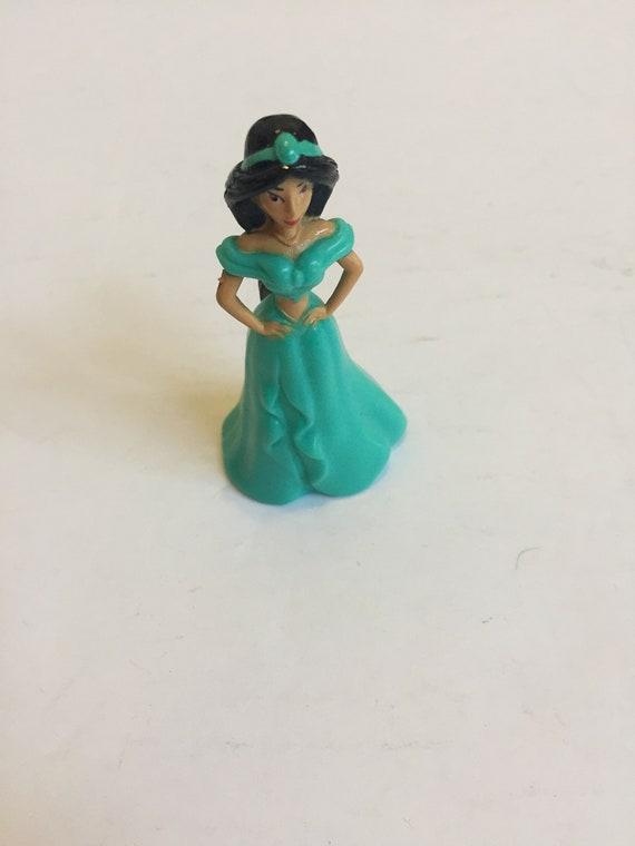 Lot 5 Fun Vintage Toy Vintage Disney Princess Jasmine Figure PVC Cake Topper Rare Vintage Toy