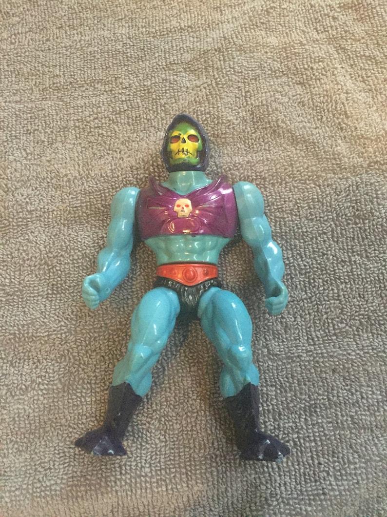 Vintage Mattel Skeletor Terror Claws MOTU Figure 1985 Masters Of The Universe Rare Figure!