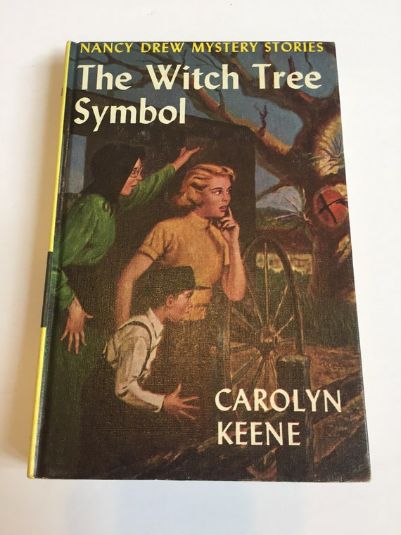 The Witch Tree Symbol By Carolyn Keene Nancy Drew 33 1955 Rare Etsy
