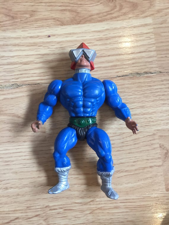 Great Gift Vintage Collectible Toy He-Man Mekaneck Masters of the Universe Action Figure Made by Mattel in 1983