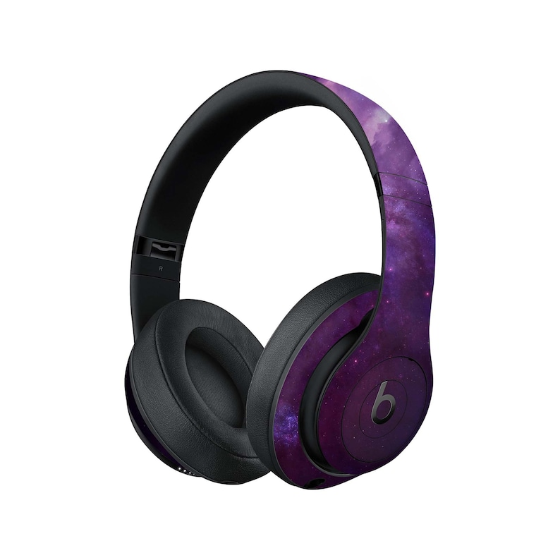 Purple Space Beats Skin Studio stars Beats skins Decal Beats Pro sticker  for the original Beats galaxy by Dr Dre solo 1 2 3 Headphones BE546