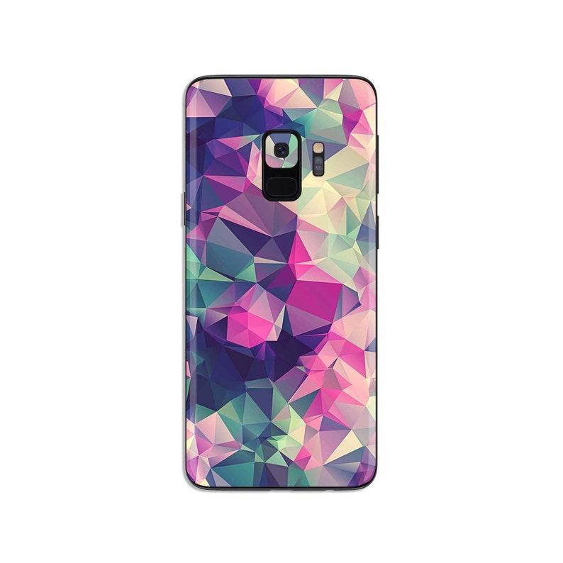 Geometric Samsung galaxy Skin sticker abstract phone decal pattern Samsung  decal S6 Edge plus S7 edge plus S8 Plus S9 Plus note 9 SS009