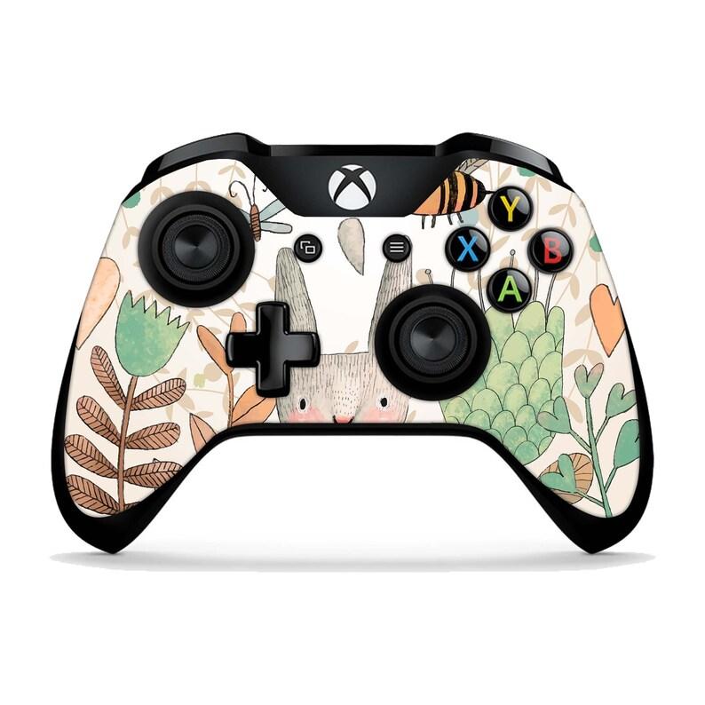 Cute Rabbit Xbox One X Skins Xbox One S Wzor Naklejki Xbox One Etsy