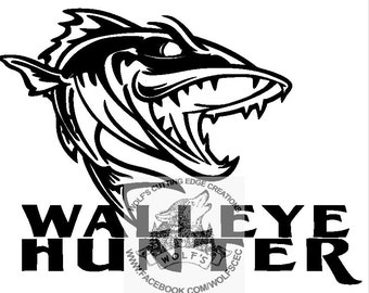 Download Walleye Svg Etsy