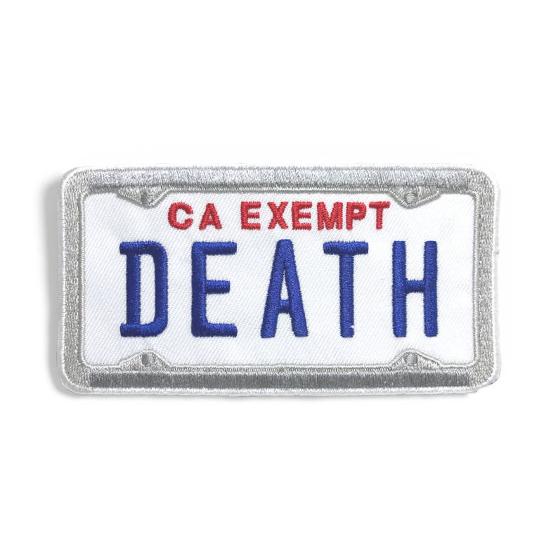 Government Plates Patch