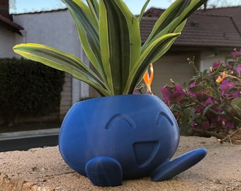 Oddish Planter | Oddish Pokemon | Pokemon Succulent | Indoor Planter | Pokemon Go | Cacti Planter | Housewarming Gift