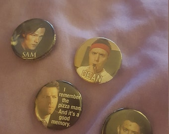 Supernatural pins