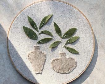 A Leafy Pair