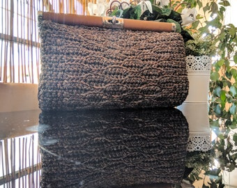 Handmade Clutch Knitted Bag