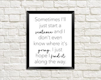 The Office TV Show / Best Michael Scott Quotes / Funny Office Quotes / Printable Wall Art / Quotes About Being Confused / Confusion Quotes
