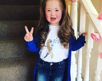 Down's Syndrome Awareness Kids Tshirt