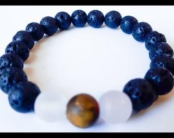 Beautiful Special Loved Lava Bracelet | Aromatherapy Bracelet