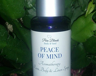 Peace Of Mind Aromatherapy Spray | Peace & Tranquility