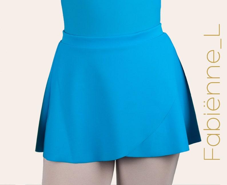 FABIËNNE lycra pull-on wrap skirt  By Aurelia Dancewear image 0