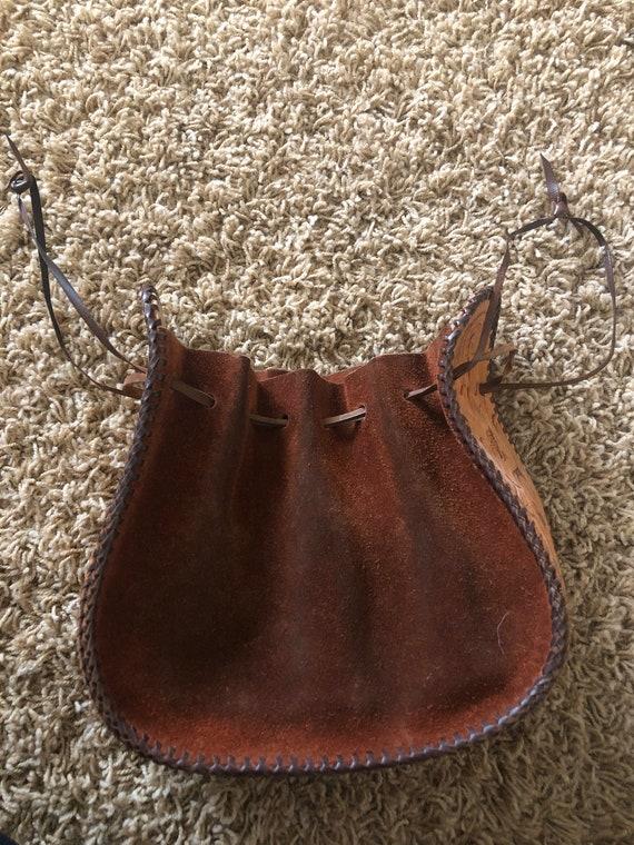 60s/70s  boho sack purse! - image 2