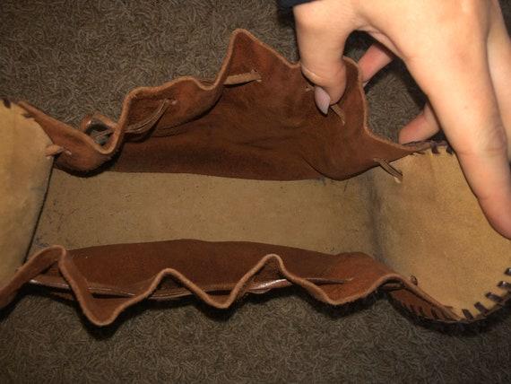60s/70s  boho sack purse! - image 4