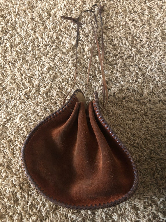 60s/70s  boho sack purse! - image 5