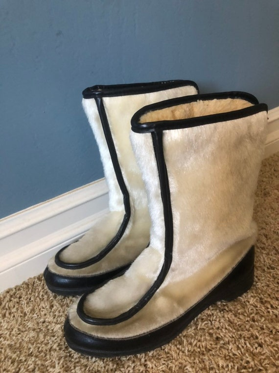 60s snow boots!