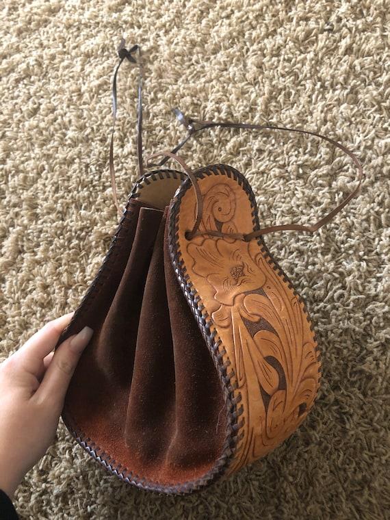60s/70s  boho sack purse!