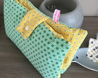 Double nomadic diaper pouch