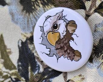 Griffin button | kawaii griffin| Ø 38 mm
