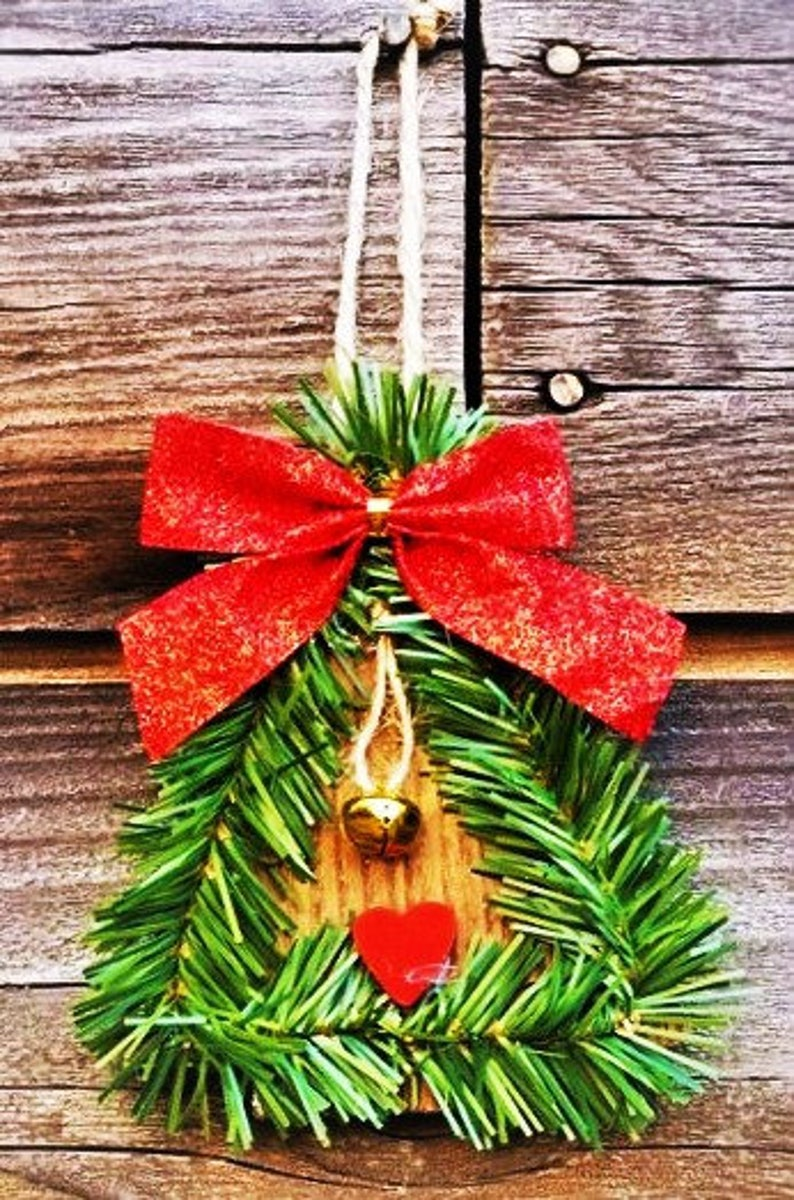 Handcrafted Christmas Wooden Ornaments! 3 Different Styles left