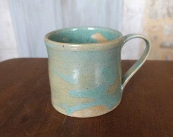 Green lake small mug