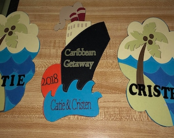Cruise Door Decorations