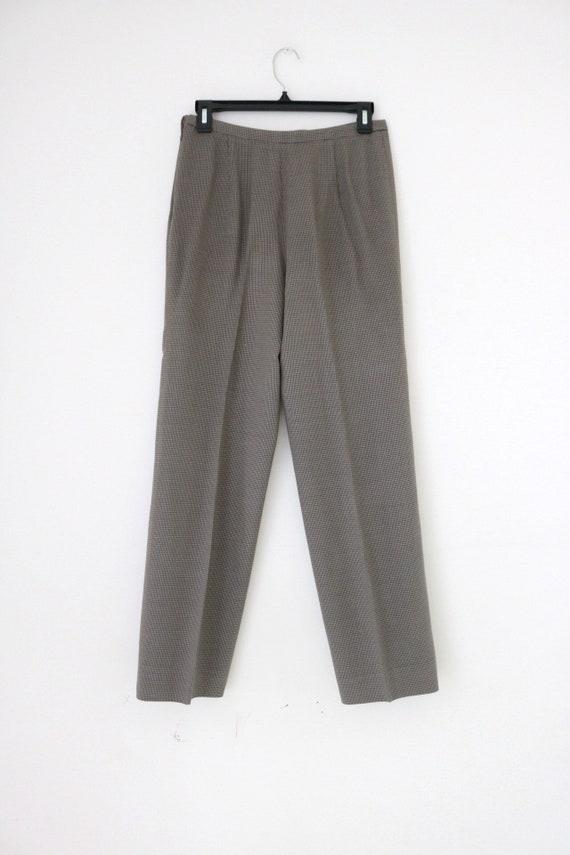 Vintage Giorgio Armani // silk wool high waisted p