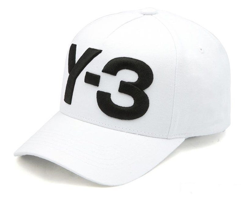 47ec059ad24 Y-3 Dad Hat Big Bold Embroidered Logo Hip Hop Baseball Cap