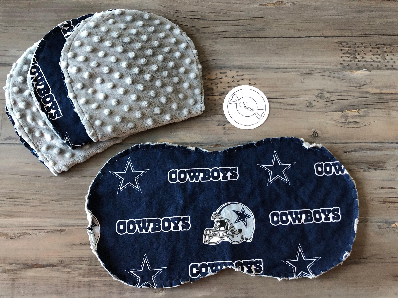 Dallas Cowboys Baby Burp Cloths Set of 4 ce9342cba