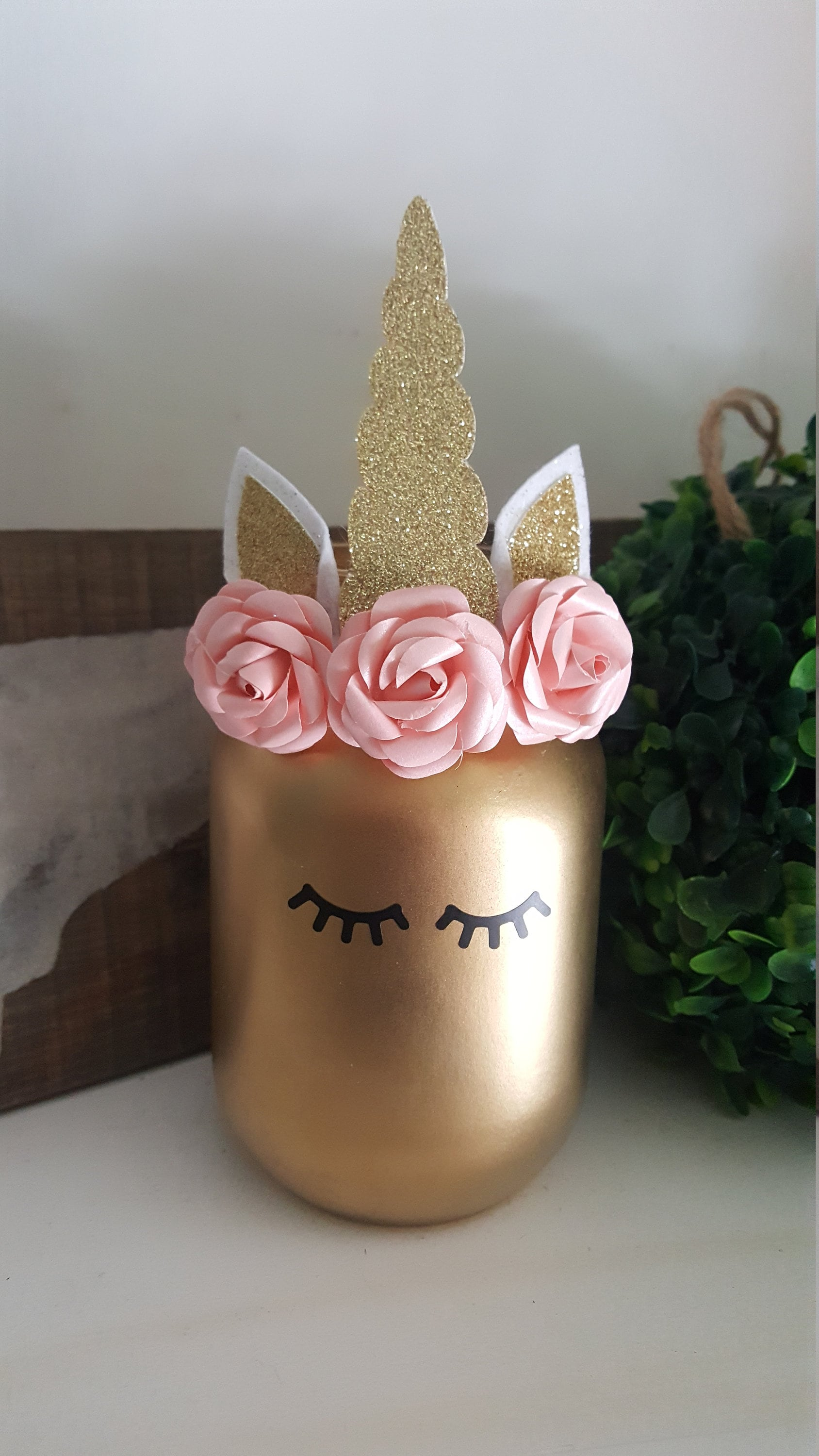 Pink And Gold Baby Shower Birthday Decorations