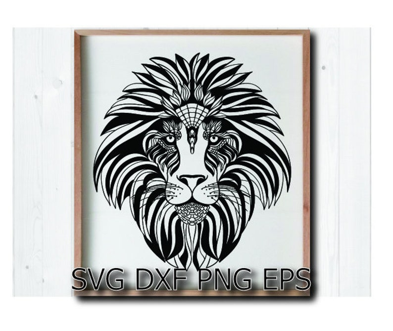 Lion Svg Jungle Animal Svg Etsy
