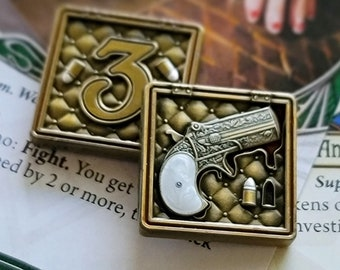 """Arkham Metal Ammo: """"Final Rounds"""" Unofficial Luxury Tokens"""