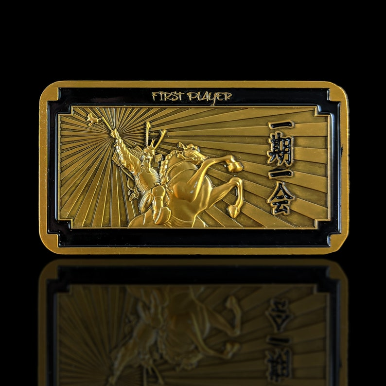 L5R Metal First Player: Luxury Token  Unofficial design for image 0
