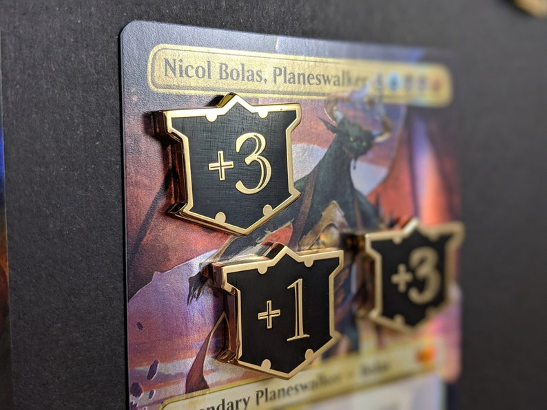 Magic Metal Counters: Loyal Shield Luxury Tokens  Unofficial image 0